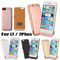 External Power Bank Pack Backup Battery 10000mAh Charger Case For iPhone X 8 7+