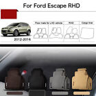 "Full Set 1/2""Thick Solid Nylon Interior Floor Carpet Mats For RHD Ford Escape"