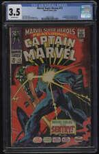 Marvel Super-Heroes #13 CGC 3.5 OW Pgs 1st Appearance Carol Danvers Captain 1968