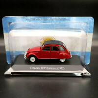 1:43 IXO Altaya Citroen 3CV Especial 1972 Red Diecast Models Limited Edition