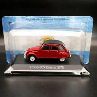 1:43 IXO Altaya Citroen 3CV Especial 1972 Red Diecast Models Limited Edition