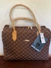 Pierre Cardin Ladies Brown Laptop/Purse Tote Bag