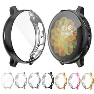 Silicone TPU Bumper Protector Case Cover For Samsung Galaxy Watch Active 2 40 44