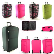 """Medium Large 26"""" Lightweight Travel Wheeled Trolley Luggage Suitcase Bag Case"""
