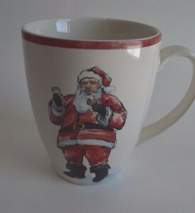 Pottery Barn  Painted Santa Claus Dinnerware Replacement Mug SOLD OUT AT PB #24