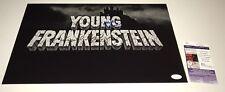 Mel Brooks & Michael Gruskoff YOUNG FRANKENSTEIN Signed 11x17 Photo JSA COA