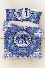 Indian mandala doona duvet cover bohemian cotton quilt cover floral bedding set