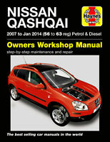 Nissan Qashqai Petrol & Diesel 2007 - 2014 Haynes Manual 5610