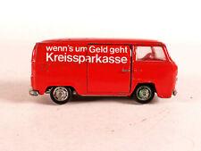 Schuco 311 911 VW Transporter, Werbemodell Kreissparkasse, 1:66, 1970er Jahre
