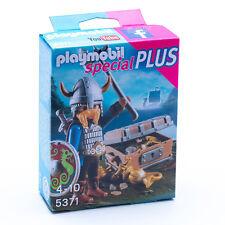 """PLAYMOBIL 5371 Special Plus �€"""" Wikinger mit Goldschatz Verpackung Beschädigt"""