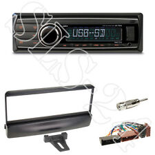 Caliber RMD212 Radio + Ford Escort Mondeo Fiesta Focus Blende black +ISO Adapter