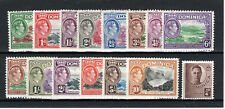 Dominica 1938-47 set to 10s MLH/MH