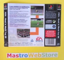 FIFA ROAD TO WORLD CUP 98 - PS1 PSX Playstation1 PAL ITA retro cover [g08]