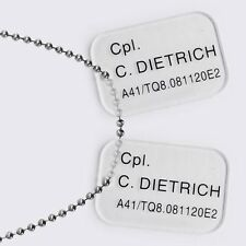 Hollywood Collectibles Group Aliens Dietrich Dog Tags