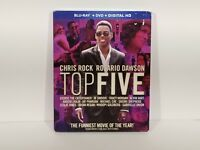 Top Five Blu Ray DVD Digital HD Chris Rock NEW SEALED with slipcover