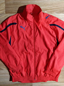 Puma Vintage Mens Tracksuit Top Jacket Red