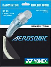 Yonex BG Aerosonic Badminton String - White - Authorized Dealer - Reg $21