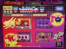 Transformers Encore 17 Cassettes by Takara Tomy Factory Sealed
