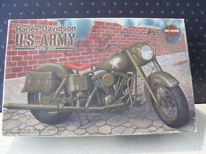 Harley Davidson FLH 1980 US Army 1/12 IMAI Model Kit Vintage 1994