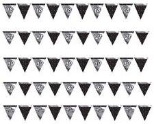 Guirnaldas de fiesta color principal negro de bandera