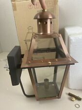 The Coppersmith Georgetown GT15E Antique Copper Wall Lantern Gorgeous! Brand New