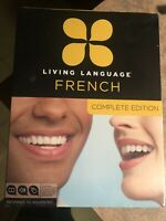LIVING LANGUAGE : FRENCH COMPLETE SET ( Brand New, Sealed)