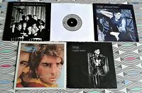 "5 X Visage 7"" Singles. All Vinyl  EXCELLENT. 5 with Picture Sleeves..see images"