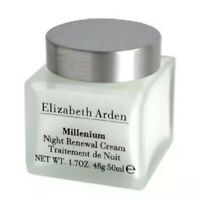ELIZABETH ARDEN MILLENIUM  NIGHT RENEWAL CREAM  1.7 OZ/50ML Unboxed