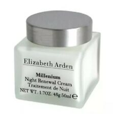 ELIZABETH ARDEN MILLENIUM  NIGHT RENEWAL CREAM  1.7 OZ/50ML Unboxed