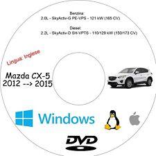 Manuale Officina MAZDA CX-5 - Assistenza, Riparazione e Manutenzione