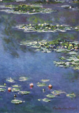 QUALITY CANVAS ART PRINT * Claude MONET * LILIES