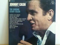 JOHNNY  CASH   AND THE  TENNESSE  TWO      LP    THE  SINGING   STORY   TELLER