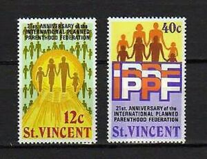 16156) st Vincent 1973 MNH New Family - Family