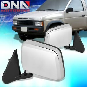 FOR 1986-1997 NISSAN D21 PICKUP PAIR OE STYLE MANUAL DOOR MIRROR REPLACEMENT