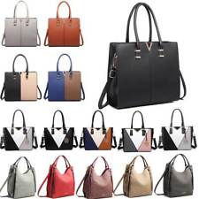 Ladies Designer Inspire Long Handle Tote Shoulder Handbag Faux Leather Bag/Purse