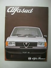 Alfa Romeo Alfasud prestige brochure Prospekt text Dutch 24 pages 1983