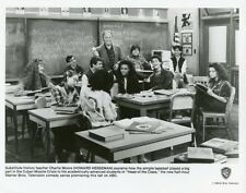 ROBIN GIVENS LESLIE BEGA KHRYSTYNE HAJE HEAD OF THE CLASS CAST 1984 ABC TV PHOTO