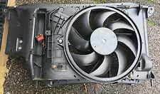 Genuine Peugeot 206 GTI 180 New Radiator Fan Motor Air Con Rad Cowling Assembly