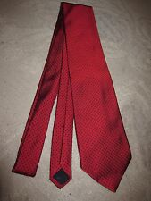 Brooks Brothers Basics silk neck tie, red w small black polka dots
