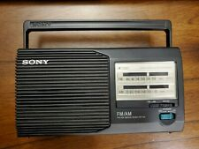Sony ICF-24 FM/AM Radio. Great Condition. AC or Battery