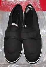 Women's New Black Flat Canvas Shoes by Dr. Leonard US Shoe Size 9M