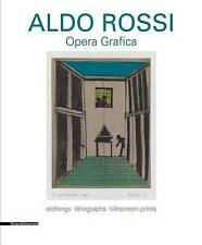 Aldo Rossi: Graphic Works: Etchings Lithographs Silkscreen Print by Silvana#1335