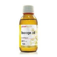 Power Health Borage Oil (Starflower Oil) Liquid Cold Pressed   150 ml