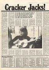 Terry Jacks Cracker MM4 Interview 1974