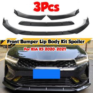 For KIA Optima K5 EX LX 2020 2021 Front Bumper Lip Splitter Spoiler Body Kit  #