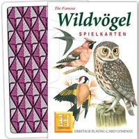 Wildvogel (Allemand Langues) Ensemble De 52 Jouer Cartes + Jokers ( HPC )