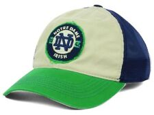 New Notre Dame Fighting Irish NCAA Cap Flex Mesh Stone Distressed Hat M L NWT