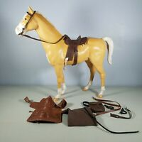1968 Marx Johnny West Thunderbolt Horse & Accessories