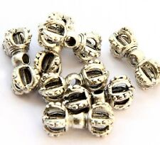 15Pcs Alloy Metal Tibet Buddhist Amulet Beads Finding--Jewelry Beads--15mm*8mm