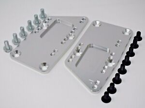 LS LS1 LSX Swap Conversion Motor Mount Adapter Plates Blazer El Camino C10 SBC